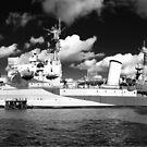 HMS Belfast by John Gaffen