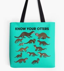 Know Your Otters Tote Bag
