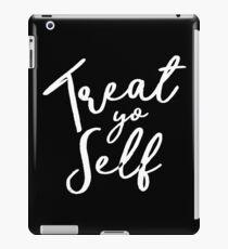 Treat Yo Self - Tom Haverford iPad Case/Skin