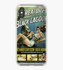 Creature From The Black Lagoon Vintage Poster iPhone Case