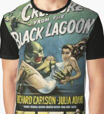 Creature From The Black Lagoon Vintage Poster Graphic T-Shirt