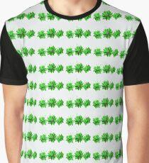 Blooming Hostas Graphic T-Shirt