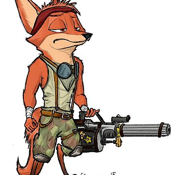 Chase the Steampowered Fox by Steampoweredfox