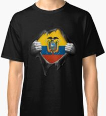 Ecuador Flag. Proud Ecuadorean Classic T-Shirt