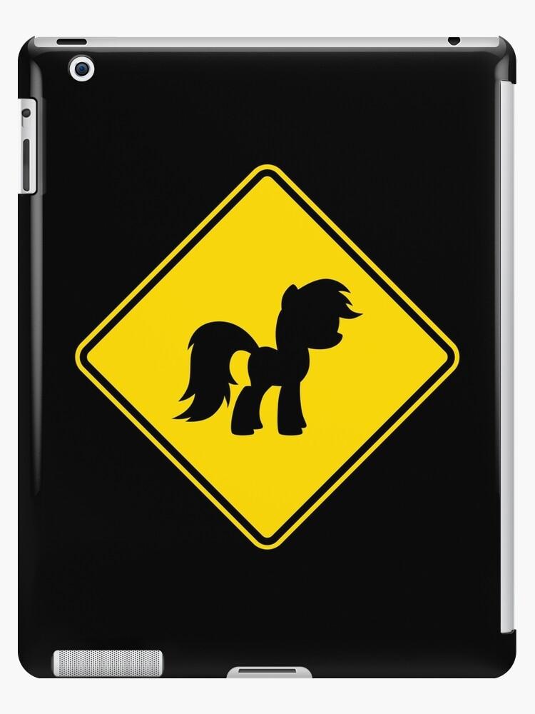 Pony Traffic Sign - Diamond by graphix