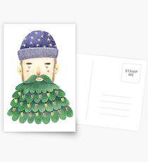 Hipster Christmas Postcards