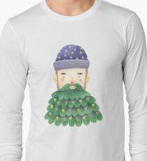 Hipster Christmas Long Sleeve T-Shirt