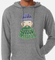 Hipster Christmas Lightweight Hoodie
