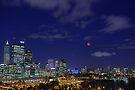 Lunar Eclipse - Perth Western Australia  by EOS20