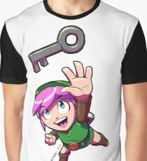 Link finds a Key Graphic T-Shirt