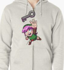 Link finds a Key Zipped Hoodie