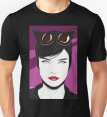 Cat Woman - Nagel Style Unisex T-Shirt