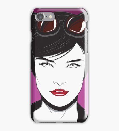 Cat Woman - Nagel Style iPhone Case/Skin
