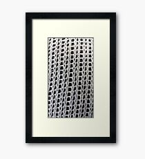 Knit Framed Print