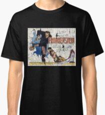 Frankenstein Boris Karloff Movie Vintage Poster Classic T-Shirt