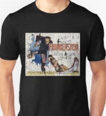 Frankenstein Boris Karloff Movie Vintage Poster T-Shirt