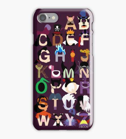 Evil-phabet iPhone Case/Skin