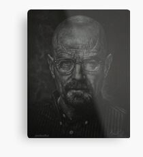 The Man Who Knocks Metal Print