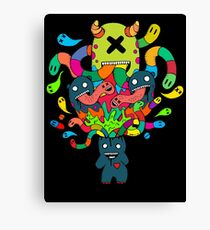 Monster Brains Canvas Print
