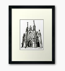 Cathedral of Saint Paul, Birmingham AL Framed Print