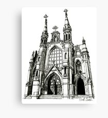 Cathedral of Saint Paul, Birmingham AL Canvas Print