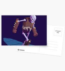 Skeleton Warrior Postcards