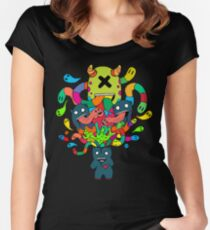 Monster Brains Women's Fitted Scoop T-Shirt