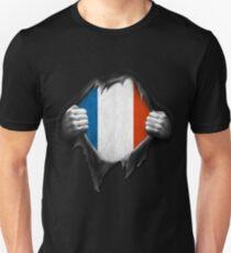France National Flag  Unisex T-Shirt