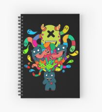 Monster Brains Spiral Notebook