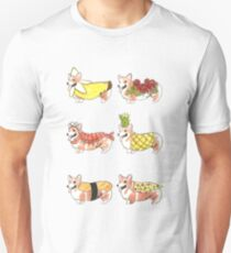 Food Costume Corgi 2 Unisex T-Shirt