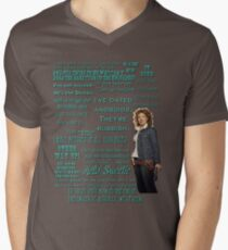 River Song Quotes Men's V-Neck T-Shirt