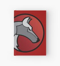 Wolf Circle - Red Hardcover Journal