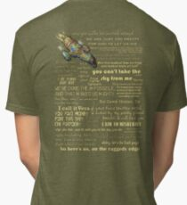Firefly quotes Tri-blend T-Shirt