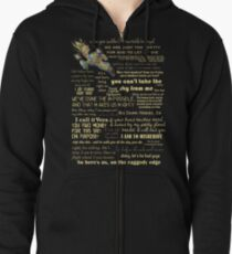 Firefly quotes Zipped Hoodie