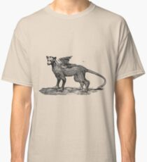 Camiseta clásica The Last Guardian - Trico Bestiary Image