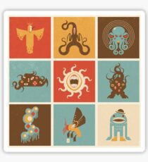 The Lovecraftian Squares Sticker