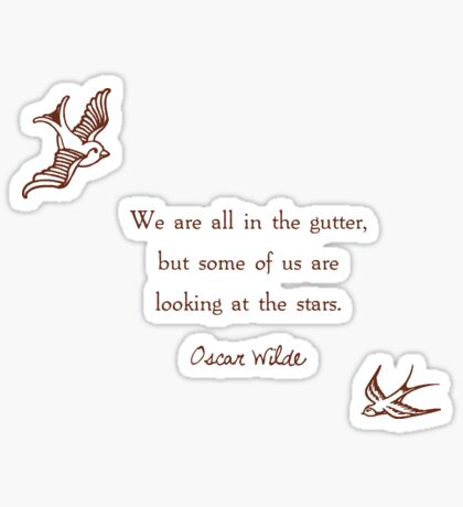 Looking at the Stars Sticker