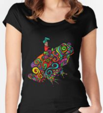 Gnome & Toad Women's Fitted Scoop T-Shirt