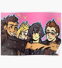 Chocobro Hugs Poster