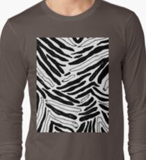 BLACK AND WHITE ZEBRA STRIPES T-Shirt