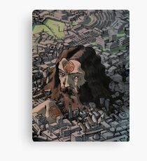 Unearthing Moore Canvas Print