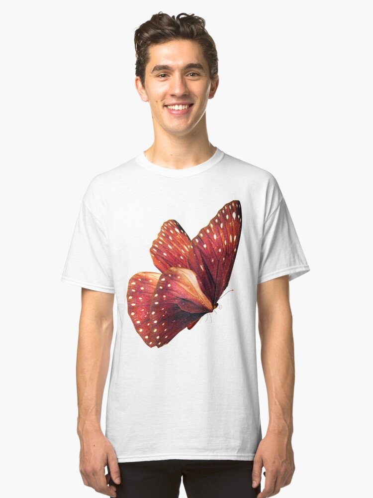 Butterfly model Classic T-Shirt Front