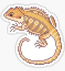 Bearded Dragon Sprite Sticker Sticker