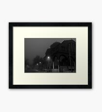 Low Angle View Of Church Structure Against Clear Sky Framed Print