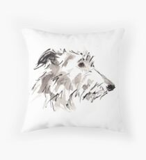 Sighthound Throw Pillow