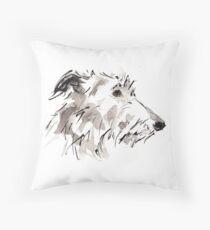 Sighthound Throw Pillow