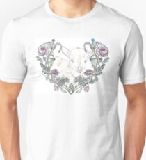 Goat in Flowers T-Shirt