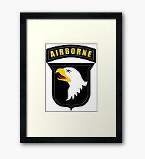 101st Airborne  Framed Print