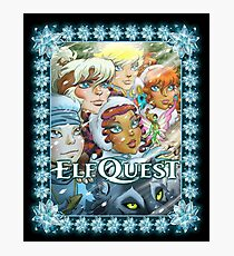 Elfquest Winter Special (Bordered) Photographic Print
