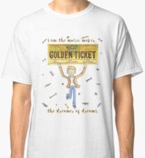 The Golden Ticket - Roald Dahl, kids  Classic T-Shirt